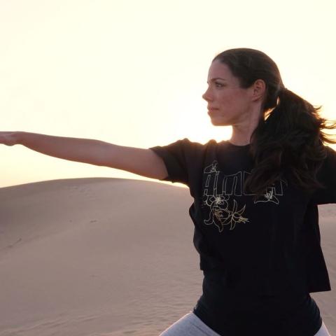 Photo: HI DUBAI Episode 22 – Esmeralda, personal trainer