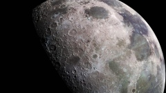 What have humans left on the moon?