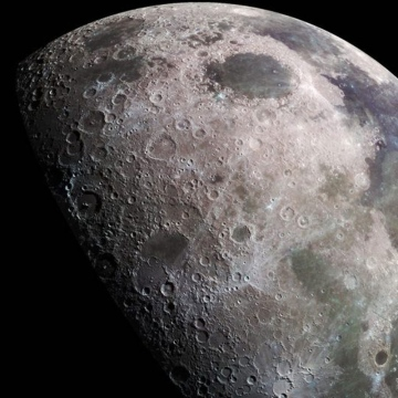 Photo: What have humans left on the moon?