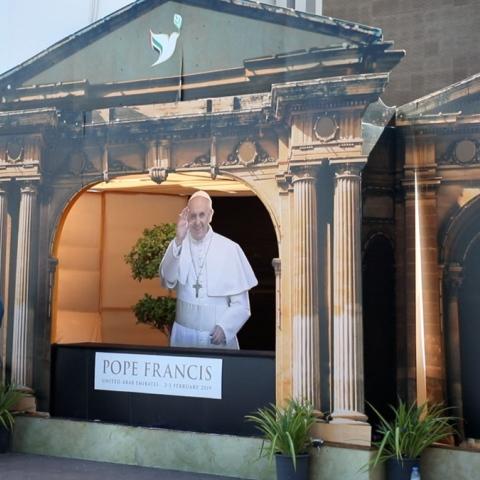 صور: الكاثوليكيون في الإمارات: سعداء بزيارة البابا في عام التسامح