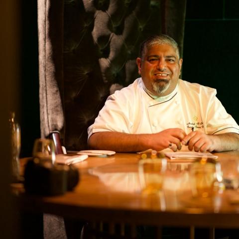 ${rs.image.photo} Musabbeh Al Kaabi.. The first Emirati chef