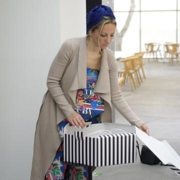 """صور: مصممة القبعات """"آنا بيبلوڤا"""": كأس دبي العالمي ملتقى العالم والأزياء"""