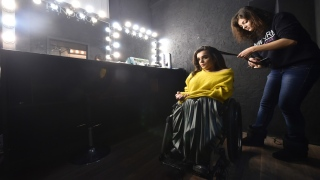 Ukraine's First Wheelchair Model Breaks Taboos