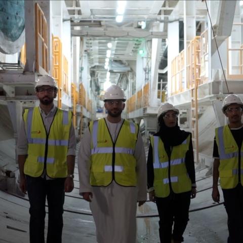 """صور: """"النفق الاستراتيجي العميق لتصريف مياه الأمطار"""".. أحد أهم مشاريع دبي 2020"""