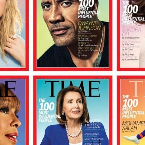 """صور: أكثر الشخصيات تأثيراً في العالم حسب مجلة """"تايم"""" في 2019"""