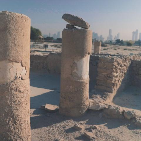 صور: مواقع تحرس تراث دبي.. جميرا الأثري