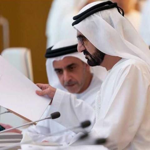 صور: الاجتماعات الاستثنائية لمجلس الوزراء بدولة الإمارات