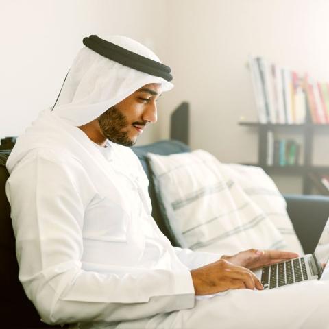 صور: الإمارات حاضرة بكثافة على الإنترنت