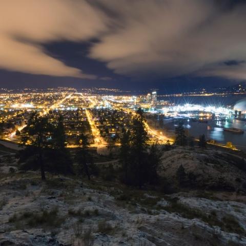 صور: التلوث الضوئي