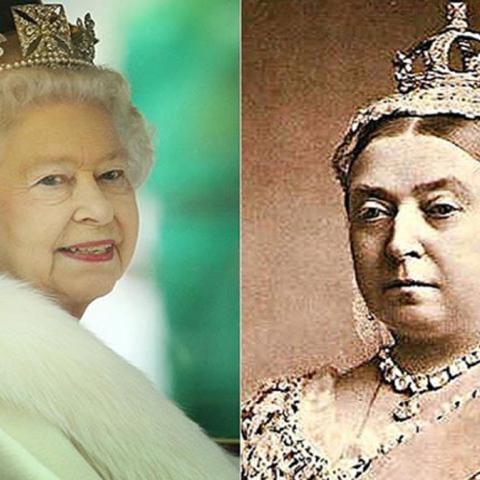 صور: معرض للملكة فيكتوريا جدة الملكة إليزابيث الثانية بقصر بيكنغهام في بريطانيا