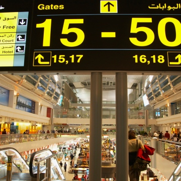 Photo: 76K departures from DXB on August 9th