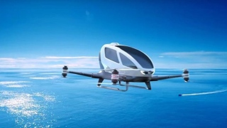 Dubai's Flying Taxi Takes Off