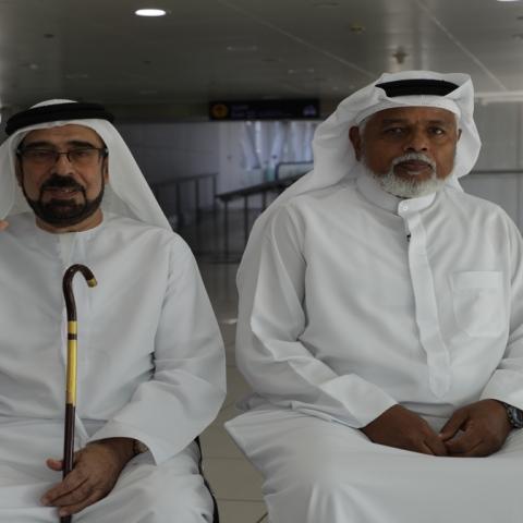 """صور: """"رحلة في الوطن"""".. أول تجربة في """"مترو دبي"""" احتفالاً بمرور 10 أعوام على إطلاقه"""