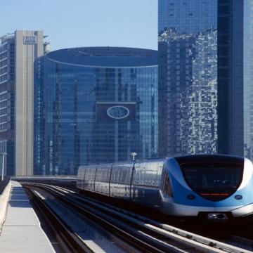 Photo: Facts about Dubai Metro, the world's longest driver-less metro network