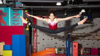 The young and inspiring Arab gymnastics champion: Ayat Al Hasan