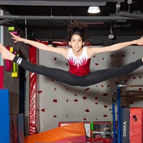 ${rs.image.photo} The young and inspiring Arab gymnastics champion: Ayat Al Hasan