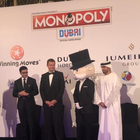 """صور: لعبة """"مونوبولي"""" في دبي"""