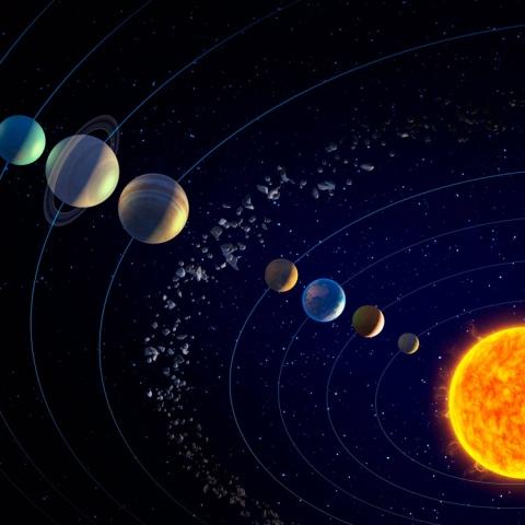 صور: طول اليوم على كواكب المجموعة الشمسية