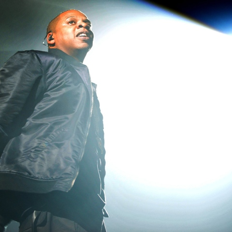 Photo: Jay Z Raps into the Hall of Fame