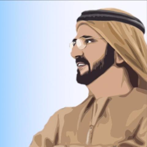صور: تأمل في دقيقة: الحلقة الثالثة - زايد و راشد.. قائدان إيجابيان