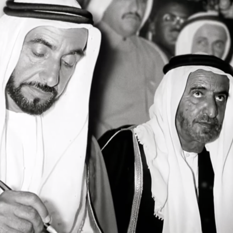 Photo: HE Zaki Anwar Nusseibeh: Sheikh Zayed believed in the success of the UAE federation