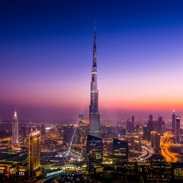Photo: Burj Khalifa celebrates its 10th anniversary