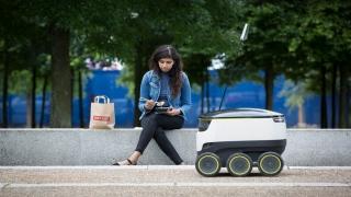 روبوت لتوصيل الطعام