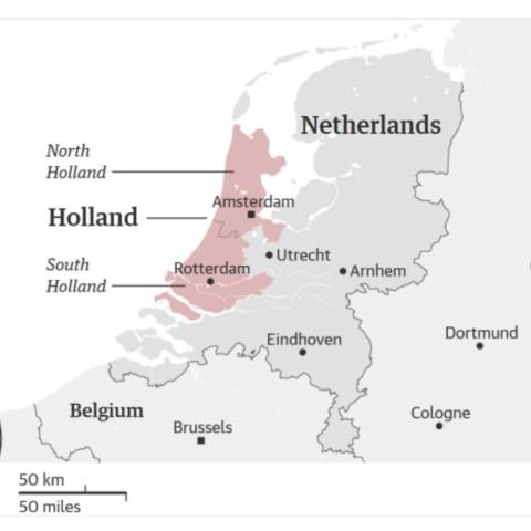 صور: هولندا تغير اسمها مطلع 2020 لهذه الأسباب