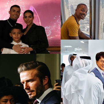 Photo: Celebrities who fell in love with Dubai