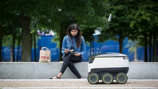 Now Robots Come Knocking on Your Door