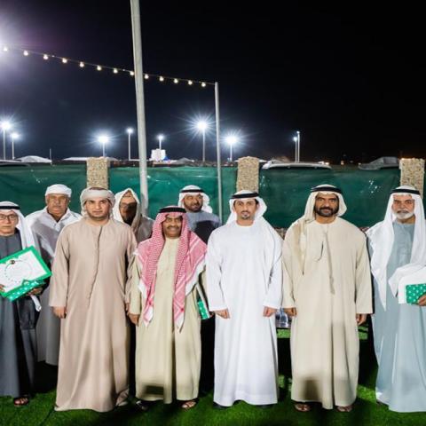"""صور: خلال فعالية """"بصمة وفاء"""".. سالم باوزير يُلقي كلمة شكر لدولة الإمارات"""