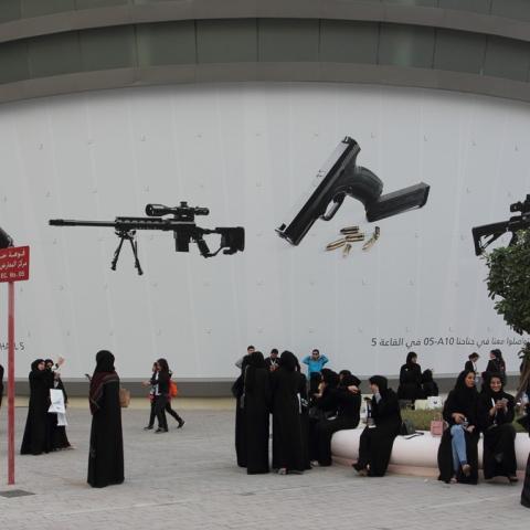 Photo: Emiratis Crossing New Frontiers