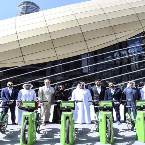 صور: خدمة تأجير الدراجات الهوائية في دبي.. دعماً لاستدامة البيئة وتقليل استخدام المركبات