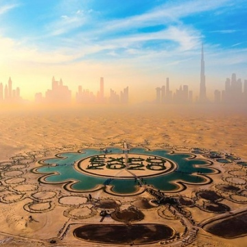 Photo: Ukrainian photographer invites the world to Expo Dubai with a picture