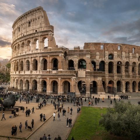 صور: وتبقى كل الطرق تؤدي إلى روما