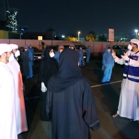 صور: متطوّعون لأجل الإمارات