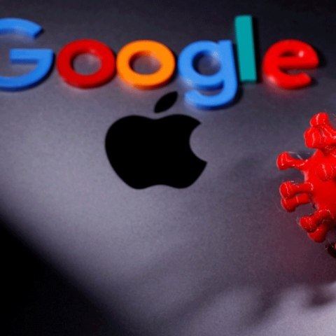 صور: جوجل وأبل معاً ضد كورونا