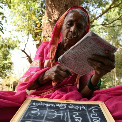 Photo: India's School for Grannies
