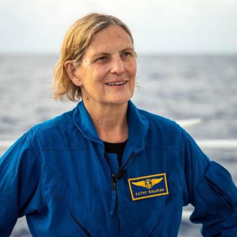 صور: كاثي سوليفان: امرأة صنعت التاريخ في البحر والفضاء