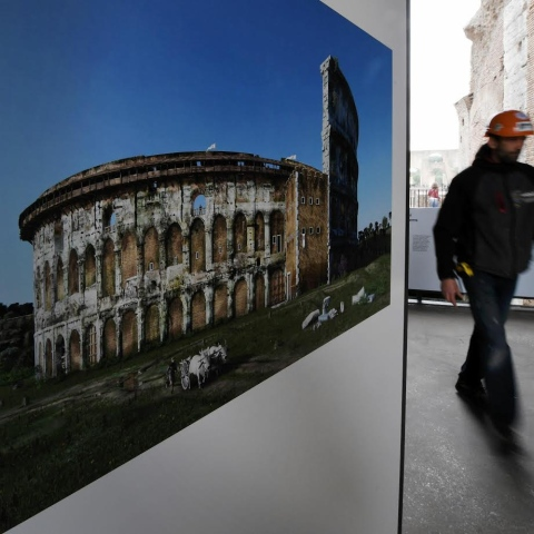 Photo: Secrets of Rome's Famed Colosseum Revealed