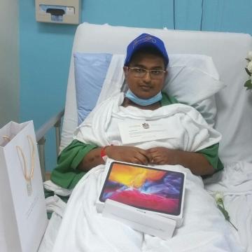 صور: لماذا أرسل الشيخ محمد بن راشد رسالة خاصة إلى الطفل بريتفيك؟