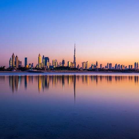 صور: معالم دبي السياحية في تطبيق سناب شات