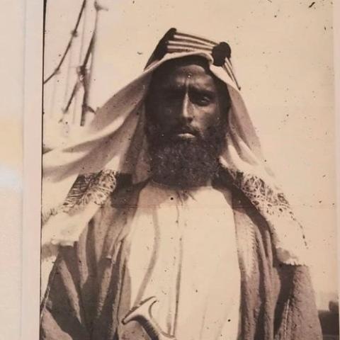 صور: صورة زايد الأول تصبح الصورة العلنية الأقدم في تاريخ الإمارات