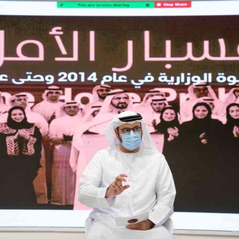 صور: محمد القرقاوي: الإمارات تكسر القوالب النمطية عن العالم العربي بمشاريع الفضاء والطاقة النووية