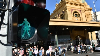 Female Traffic Lights to Promote Gender Equality