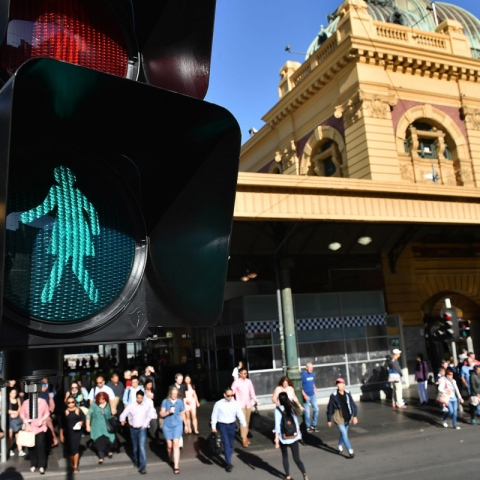 Photo: Female Traffic Lights to Promote Gender Equality