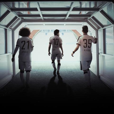 صور: حان الوقت: حملة جماهيرية تفاعلية من نادي الجزيرة مع بدء الموسم الكروي في الإمارات
