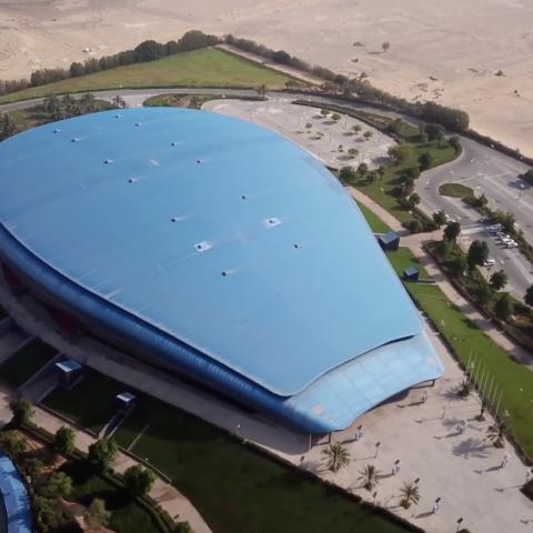 صور: 10 أعوام على افتتاح مجمع حمدان الرياضي في دبي