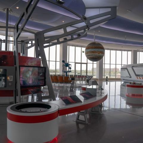 صور: القبة الفلكية في الشارقة مركزاً لجمعية القباب العربية