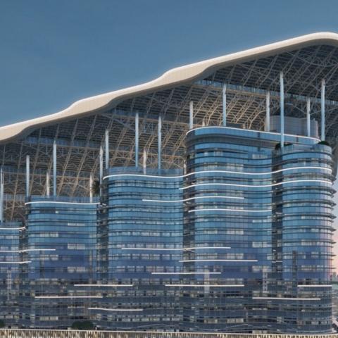 """صور: مبنى """"الشراع"""" في دبي.. الأذكى في العالم"""